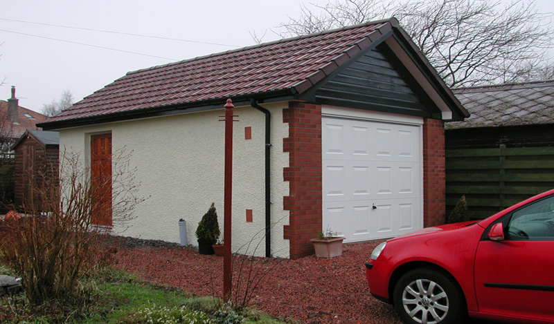 Andrew gibson design builders joinery manufacturers for Brick garage designs